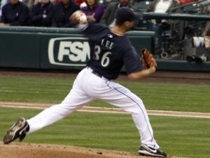 Cliff Lee of the Mariners