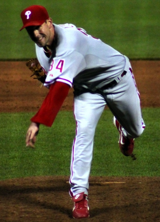 Cliff Lee of the Phillies