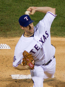 Cliff Lee of the Rangers